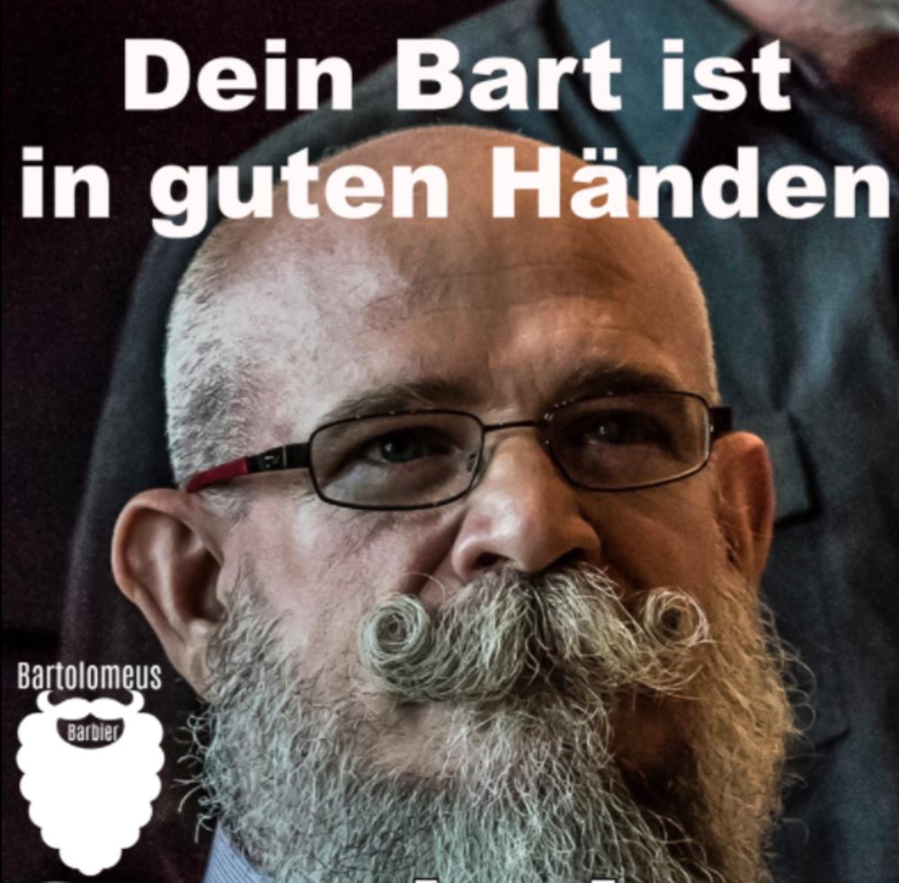 Dein Bart ist in guten Händen