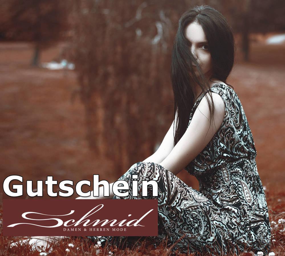 Modegutschein um 50 EURO Mode Schmid Enns